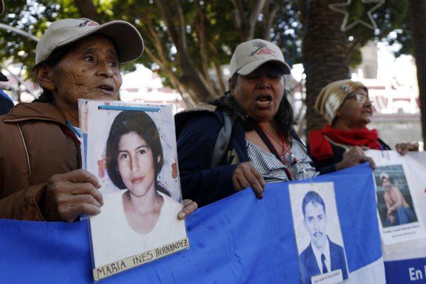 """""""Vivosvinieron y vivos les queremos"""": madres de migrandes desaparecidos"""