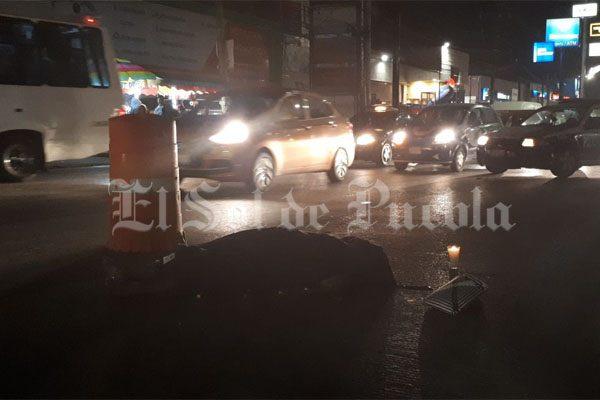 Muere mujer arrollada en bulevar Norte a metros de la Capu