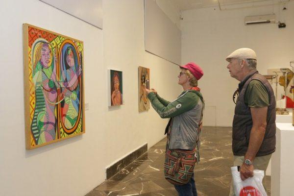 Farándula Cubista, un performance en homenaje a Picasso