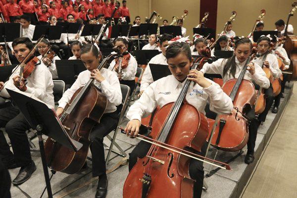 Recauda Orquesta de Audi recursos para damnificados del terremoto