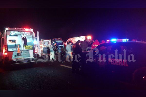 Apoyará gobierno de Huejotzingo a familias de peregrinos fallecidos en la México-Puebla