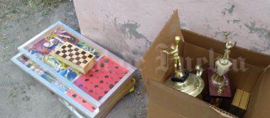 Ladrones roban escuela de Tehuacán y dejan un peculiar sello
