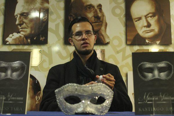 Podcast: Santiago Jara – Libro: Máscara Veneciana
