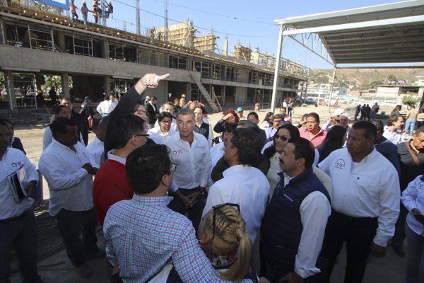 Lista en enero reconstrucción  del centro escolar de Izúcar