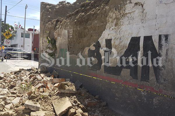 Dañadas 197 viviendas en Huejotzingo tras el sismo del 19-S