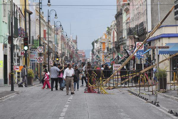 Regresa a la normalidad el 80 % del CH de Puebla capital tras sismo