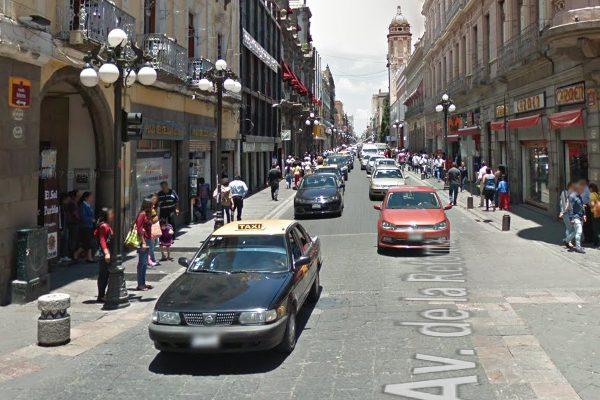 Cerrarían Reforma y 16 de Septiembre al paso vehicular