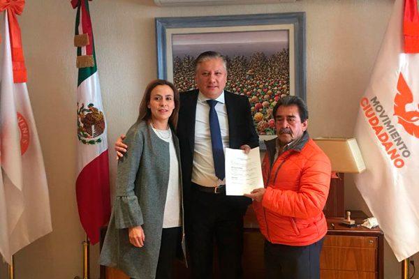 Se registra Fernando Morales como precandidato a diputado federal en Ciudad Serdán