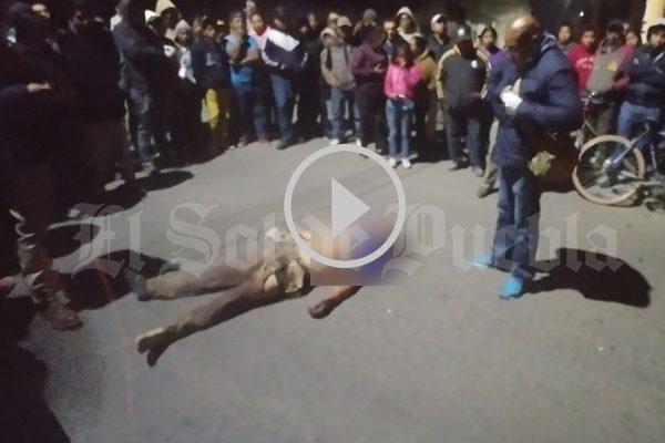[Video] Matan en linchamiento a menor de edad en Texmelucan, Puebla