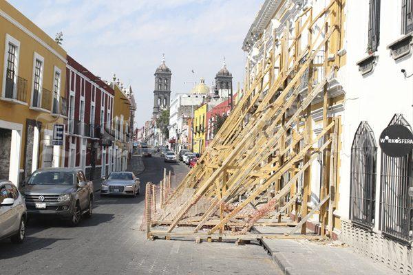 Modificarán reglas de construcción en Puebla tras terremoto