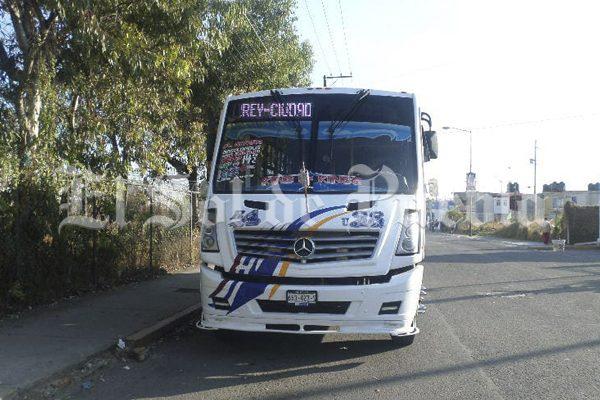 Asaltan ruta Azteca en Puebla