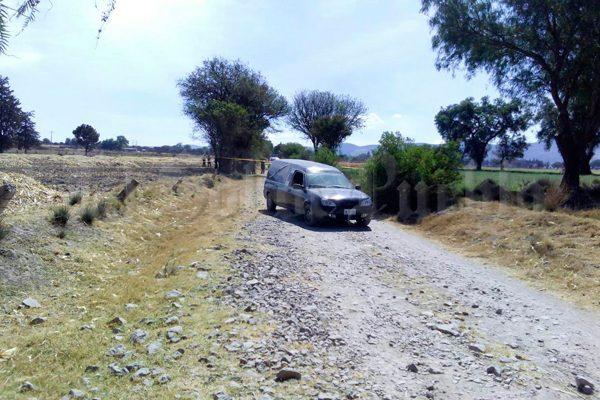Encuentran a hombre amagado y ejecutado en Tochtepec