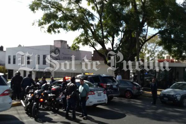 Escolta impide asalto en La Paz pero resulta herido de bala