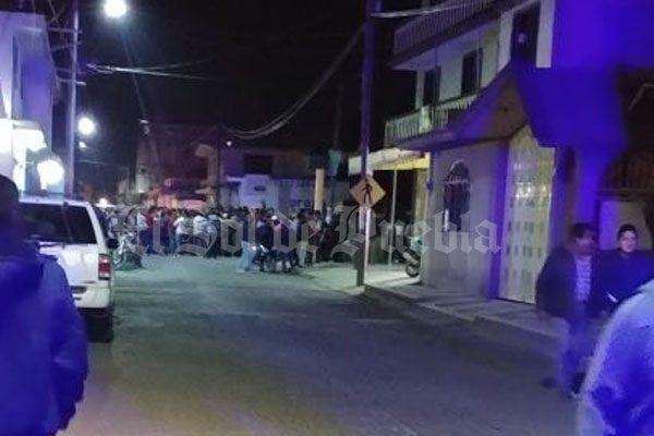 En San Martín Texmelucan intenta linchar a presunto ladrón