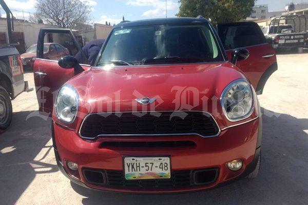 Recuperan en Tepeaca un Mini Cooper robado en Veracruz