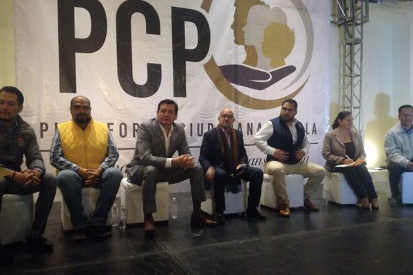 """Busca Plataforma Ciudadana 35 candidaturas en coalición """"Por México al Frente"""""""