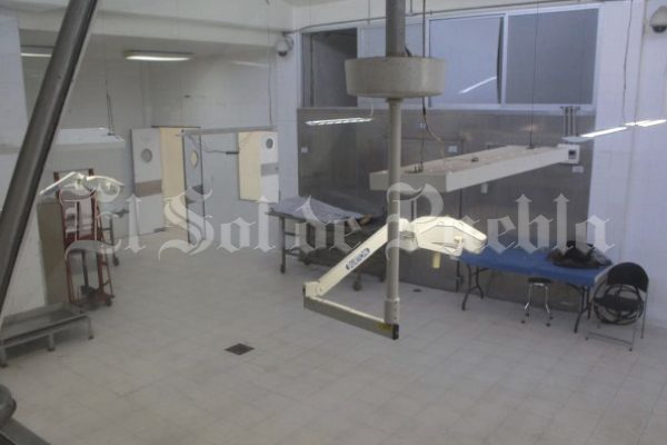 Deplorable, servicios Médicos Forenses en Puebla operan en ínfimas condiciones