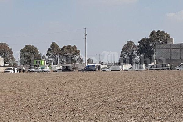 Decomisan combustible robado y 14 camionetas para su trasiego en Texmelucan