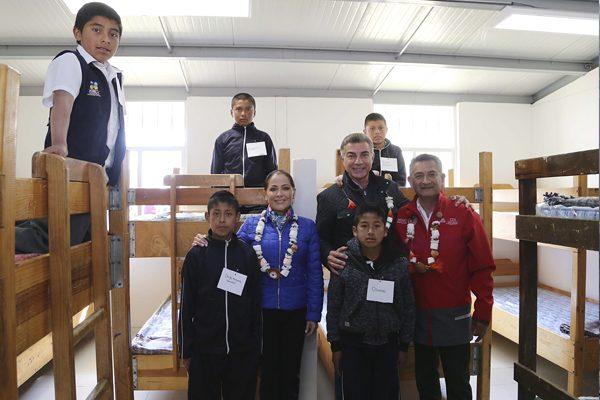 Inaugura Gali mejoramiento de la Casa del Niño Indígena en Zacapoaxtla