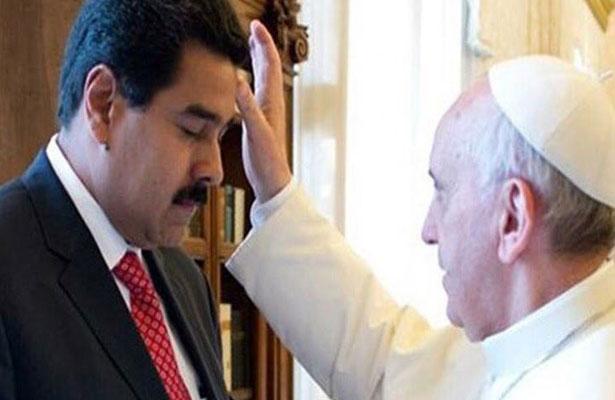 Recibe el papa Francisco a Nicolás Maduro en el Vaticano