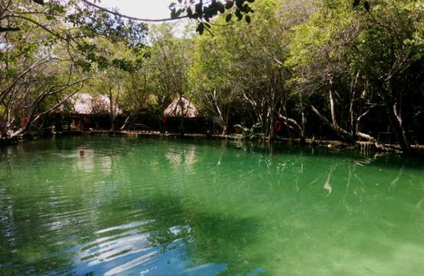 El Corchito en Yucatán, un río que se tiñe de rojo