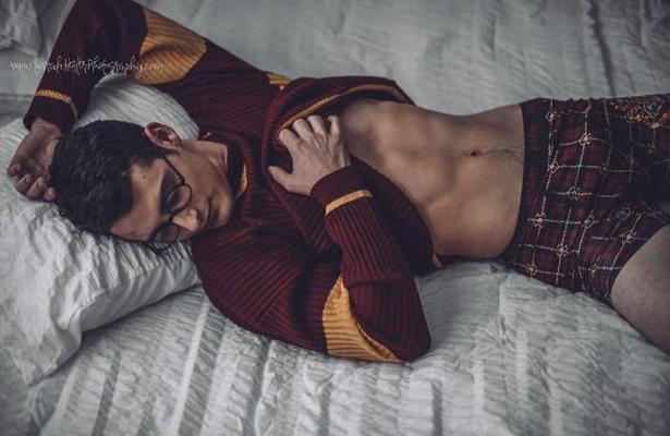 [Galería] Harry Potter como nunca lo has visto ¡sin camisa!