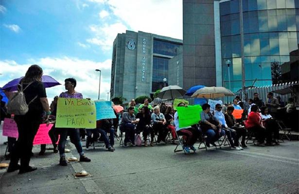Convocan a huelga en el Tribunal de Justicia de Veracruz