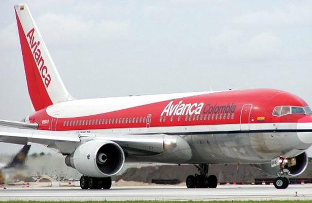 Anuncia Avianca que reanuda el domingo vuelos a Venezuela