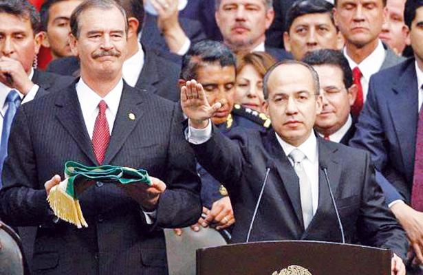 Aniversario 51 de El Sol de México: Calderón y la guerra contra el crimen