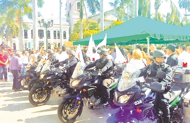 Vigilarán policías motorizados el puerto de Tampico