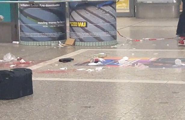Ataque con cuchillo en tren de Frankfurt deja 4 heridos