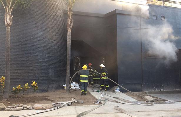 Incendian bar de Guadalajara que estaba en remodelación