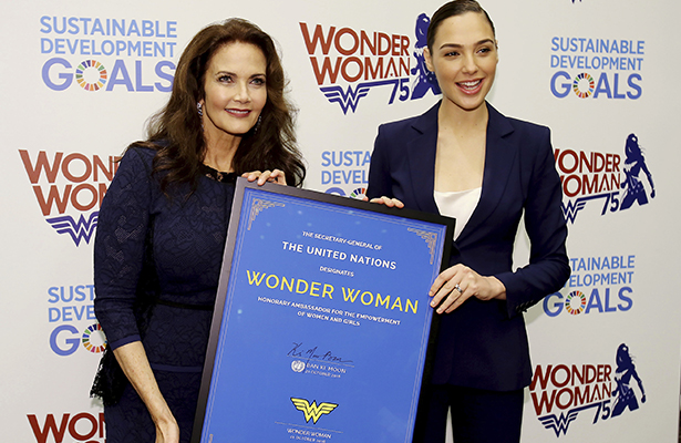 ONU nombra embajadora honoraria a la Mujer Maravilla