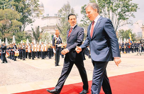 Afinidades y aspiraciones, esfuerzos  y ambiciones, nos unen: Peña Nieto