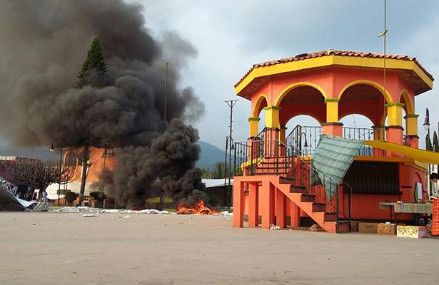 ¡Estalló Totolapan!, se registran enfrentamientos entre pobladores