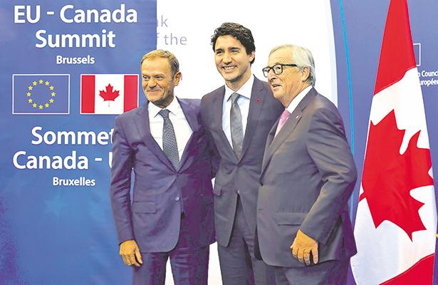 La Unión Europea y Canadá firman el ambicioso acuerdo de libre comercio