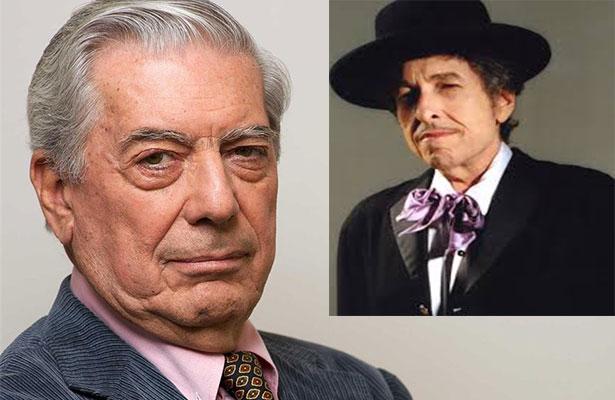 Vargas Llosa, en desacuerdo por otorgar el Nobel a Bob Dylan