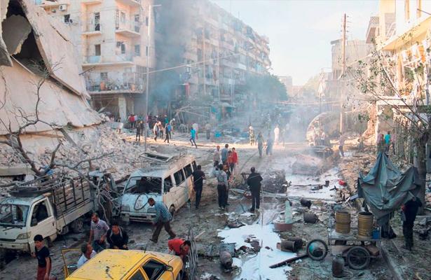 """Moscú anuncia una """"tregua humanitaria"""" en Alepo para el jueves"""
