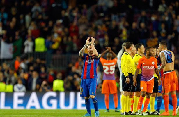 Messi marca triplete y Barcelona despacha 4-0 al Manchester City