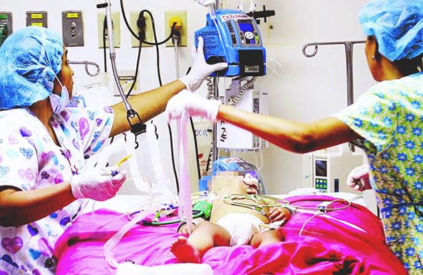 Niño maltratado fallece en Hospital de Mexicali