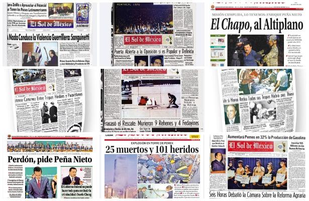 El Sol de México. Cumplimos 51 años informando