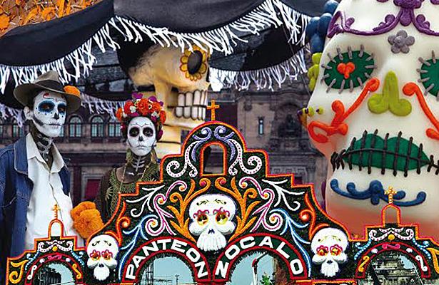Fiestas prehispánicas de Día de Muertos