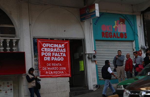 Cierran oficinas del Catastro en Veracruz