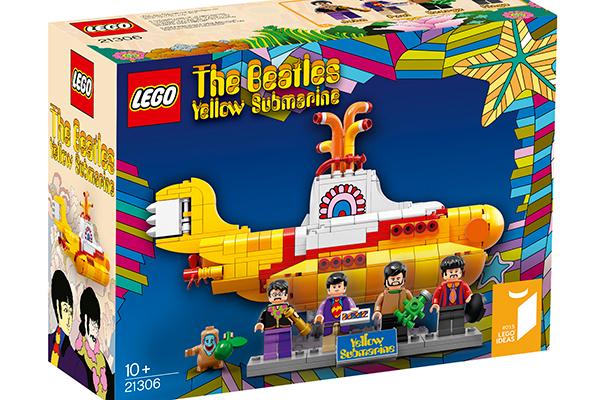 """Lanzará Lego figuritas de los Beatles y su """"Yellow submarine"""""""