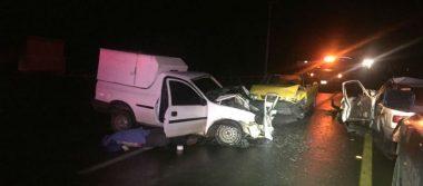 Carambola deja un muerto y cuatro heridos en Michoacán