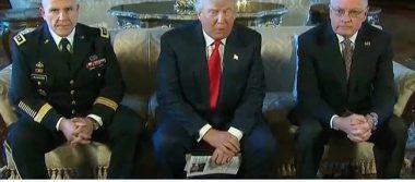Anuncia Trump a Herbert Raymond McMaster como nuevo consejero de seguridad de EU