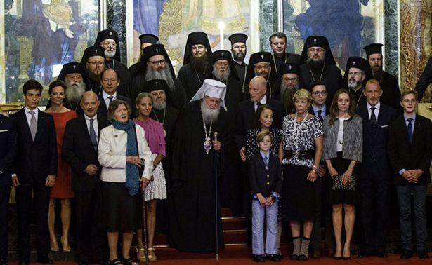 Simeón de Bulgaria celebra su 80 cumpleaños con todos sus hijos