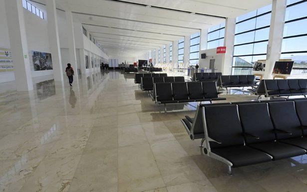 Entregan remodelación del aeropuerto