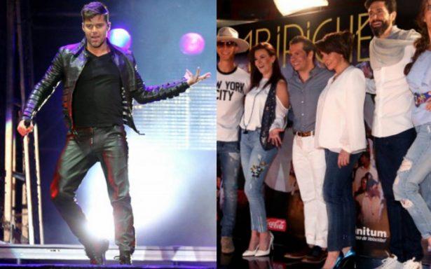 ¡Partida doble! Ricky Martin y Timbiriche ofrecerán conciertos gratis en el Zócalo