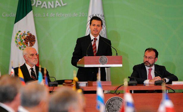 Relaciones entre Estados deben basarse en respeto, no en intimidación: EPN